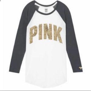Pink Victorias Secret Bling T-shirt